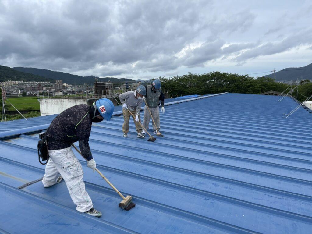 北九州市小倉南区 N社 屋根塗装工事施工後
