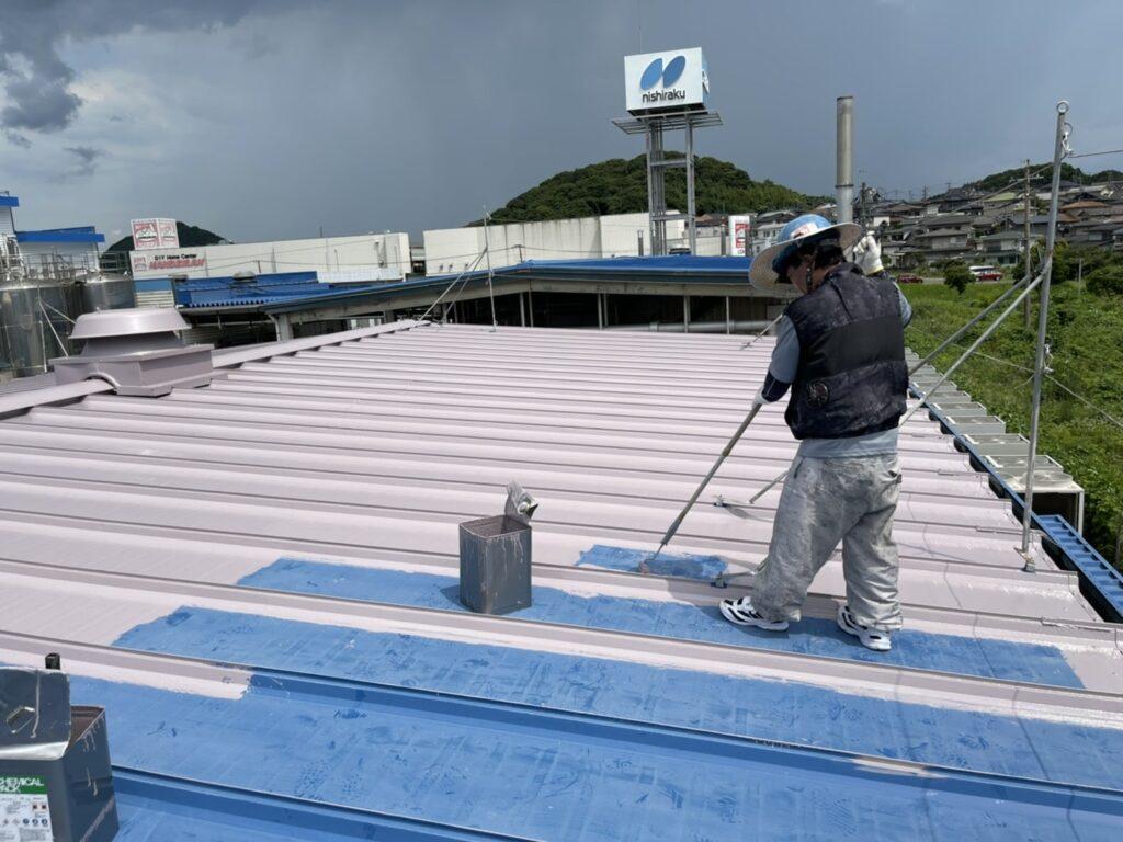 北九州市小倉南区 N社 屋根塗装工事施工前